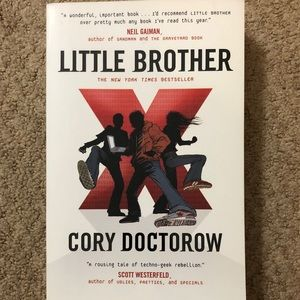 Little Brother- Young Adult Novel